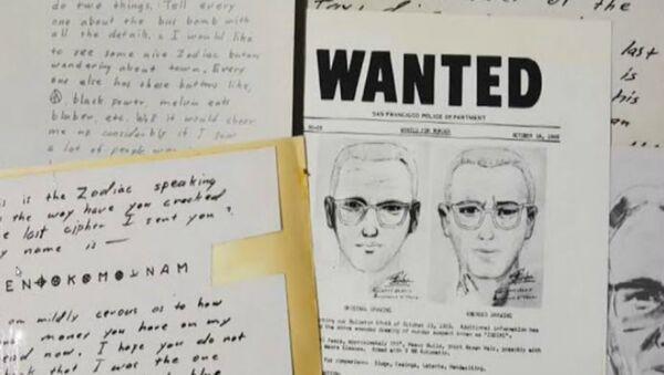 Κωδικοποιημένο μήνυμα του κατα συρροή δολοφόνου Ζόντιακ έσπασε 51 χρόνια μετά - Sputnik Ελλάδα