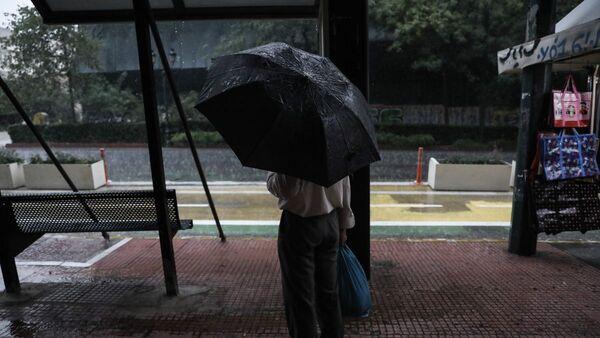 Βροχή στην Αθήνα - Sputnik Ελλάδα