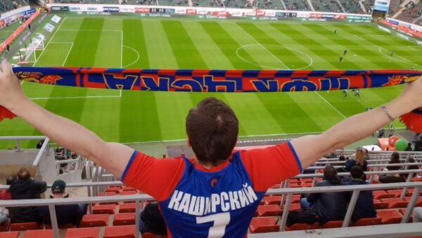 «Παιχνίδι για δυνατούς»: Νεαρός με μόνο 5% όραση έγινε αναλυτής ποδοσφαιρικών αγώνων - Sputnik Ελλάδα
