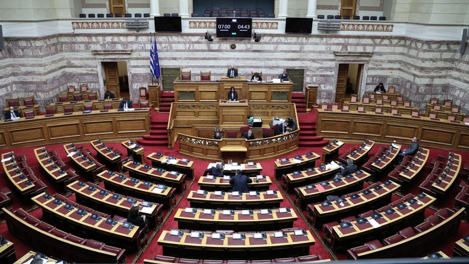 Συζήτηση για τον Προϋπολογισμό στη Βουλή - Sputnik Ελλάδα, 1920, 29.07.2021