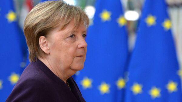 Η Γερμανίδα καγκελάριος Άνγκελα Μέρκελ - Sputnik Ελλάδα