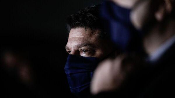 Ο υφυπουργός Πολιτικής Προστασίας, Νίκος Χαρδαλιάς - Sputnik Ελλάδα