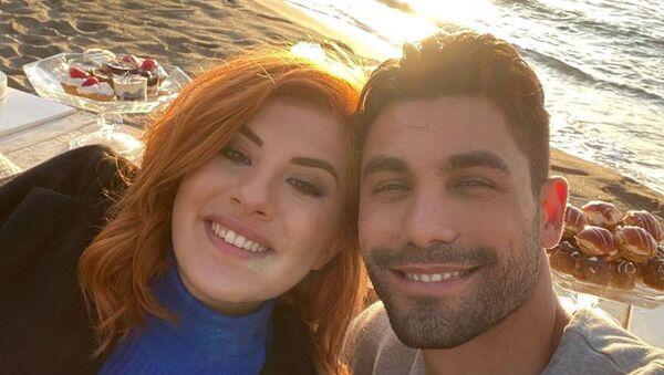 Ο Παναγιώτης Βασιλάκος και η Νικόλ στο «Bachelor» (ALPHA) - Sputnik Ελλάδα