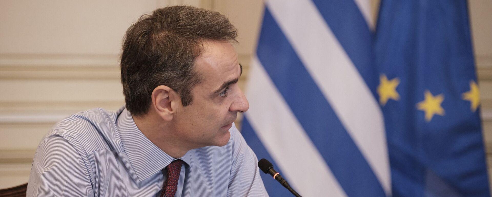 Ο πρωθυπουργός Κυριάκος Μητσοτάκης.  - Sputnik Ελλάδα, 1920, 26.07.2021
