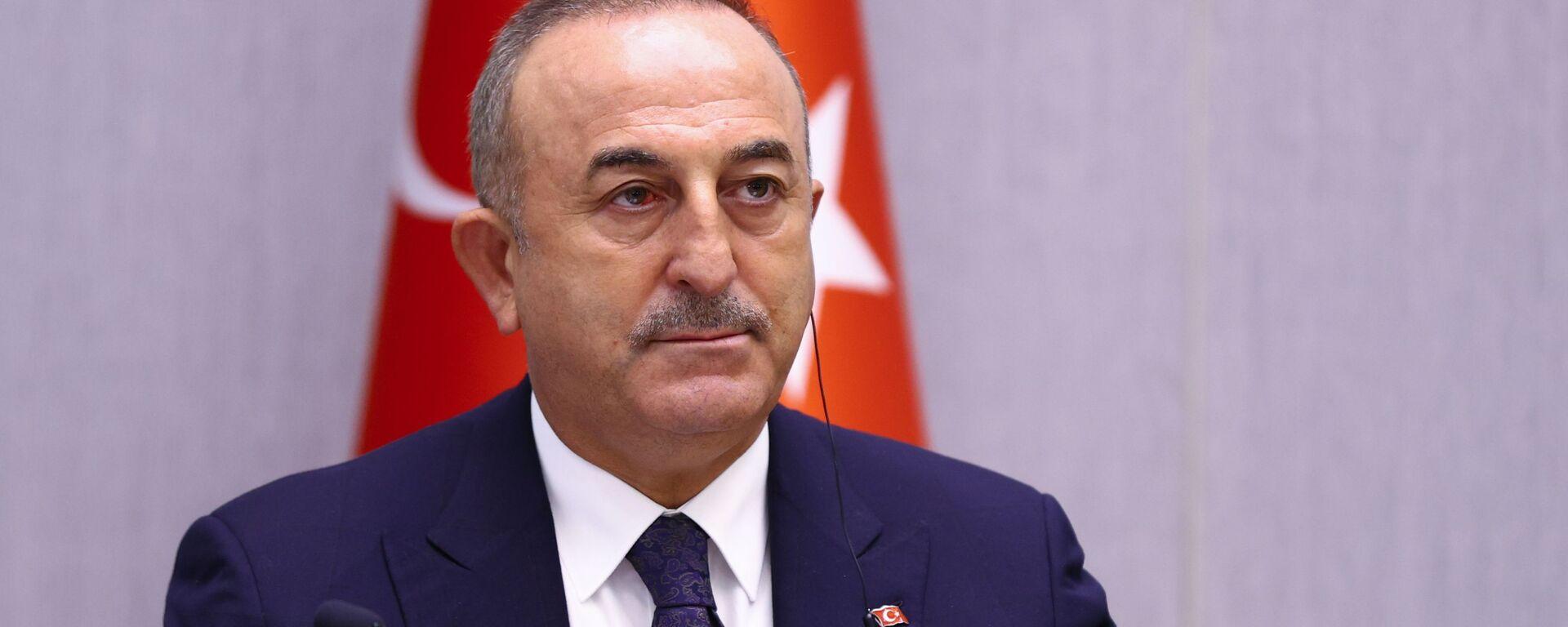 Ο Τούρκος υπουργός Εξωτερικών Μεβλούτ Τσαβούσογλου - Sputnik Ελλάδα, 1920, 18.09.2021