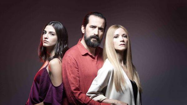 Οι πρωταγωνιστές της σειράς του MEGA με τίτλο «Έξαψη» - Sputnik Ελλάδα