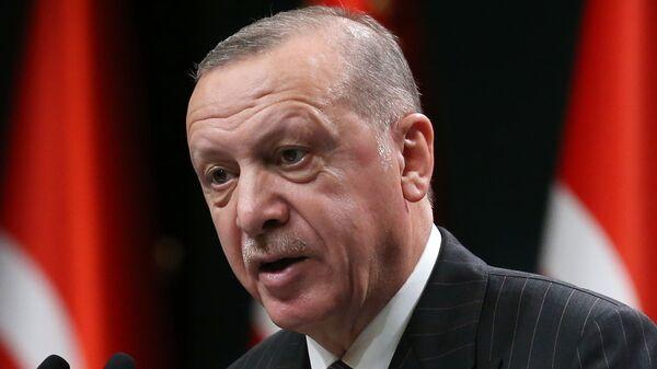 Ρετζέπ Ταγίπ Ερντογάν - Sputnik Ελλάδα