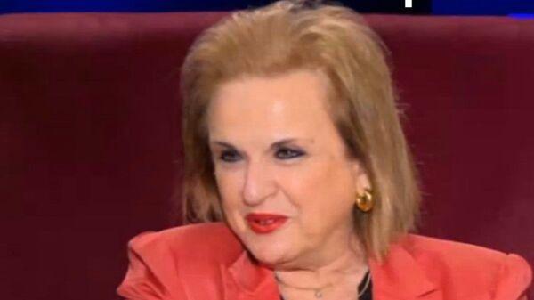 Η Ματίνα Παγώνη στην εκπομπή Μεσάνυχτα με την Ελεονώρα Μελέτη - Sputnik Ελλάδα