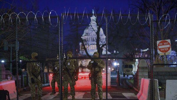 Δρακόντεια μέτρα ασφαλείας στην Ουάσινγκτον λίγες ώρες πριν την ορκωμοσία του νέου Προέδρου - Sputnik Ελλάδα
