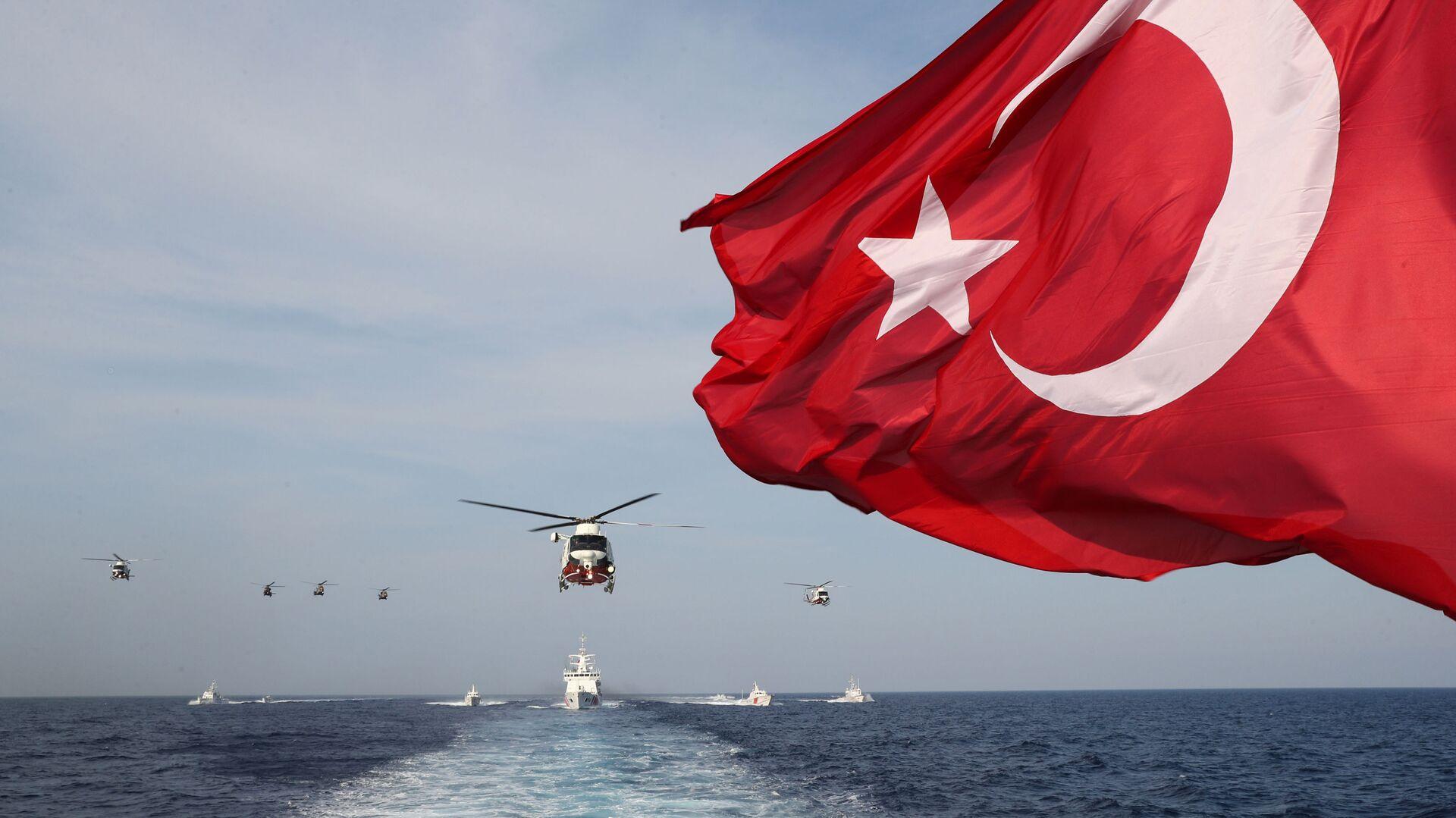 Σημαία Τουρκίας - Sputnik Ελλάδα, 1920, 08.10.2021