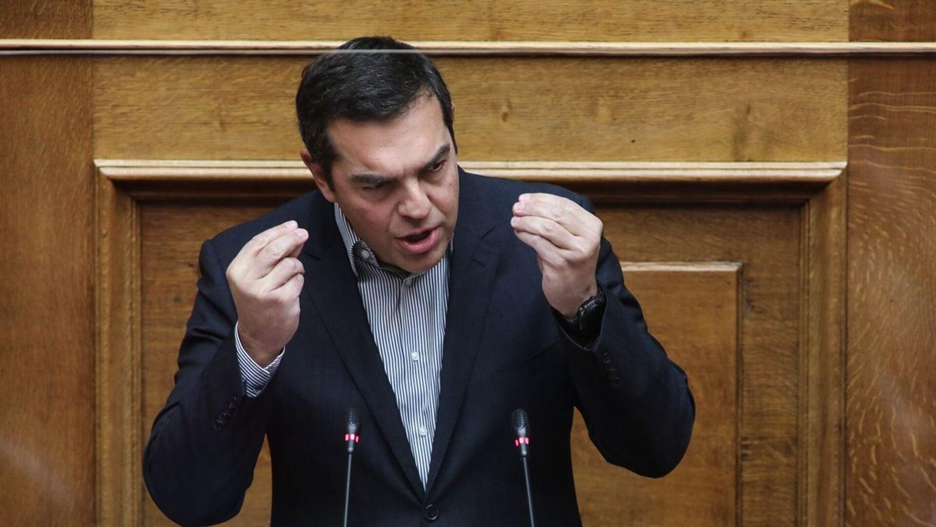 Αλέξης Τσίπρας στη Βουλή - Sputnik Ελλάδα, 1920, 27.09.2021