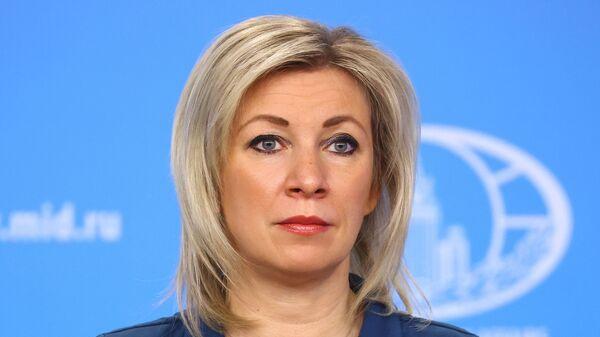 Μαρία Ζαχάροβα - Sputnik Ελλάδα