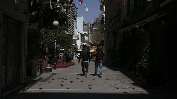 Lockdown στην Αθήνα - Sputnik Ελλάδα