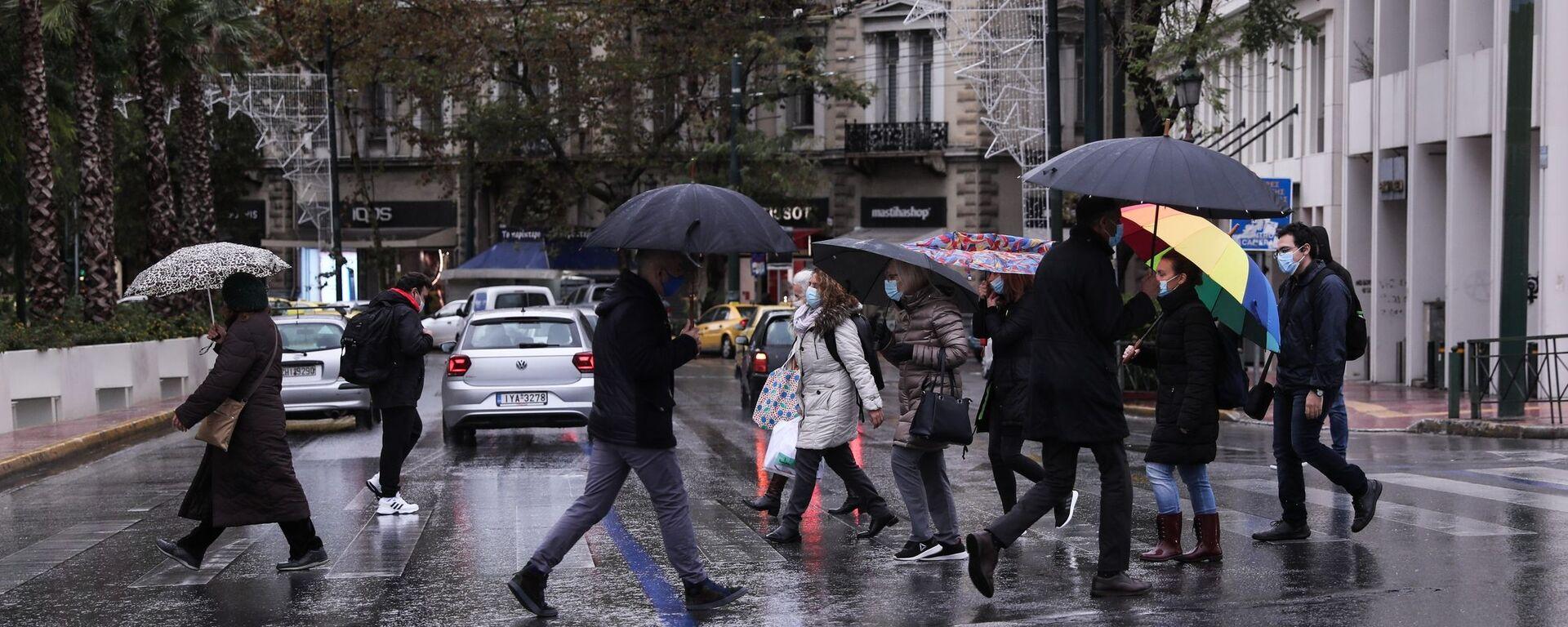 Βροχή.  - Sputnik Ελλάδα, 1920, 08.09.2021