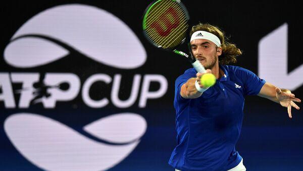 Ο Στέφανος Τσιτσιπάς στο ATP CUP στην Αυστραλία - Sputnik Ελλάδα