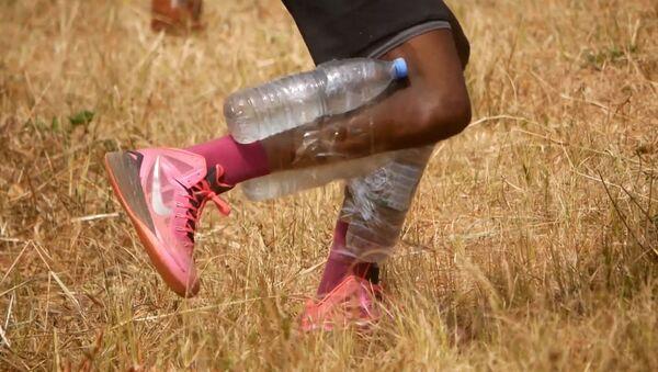 Η απίστευτη προπόνηση ενός νέου μπασκετμπολίστα από το Καμερούν - Όνειρό του είναι να παίξει στο NBA - Sputnik Ελλάδα