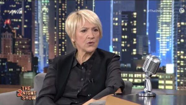 Η Καίτη Κωνσταντίνου στην εκπομπή «The 2Night Show» (ΑΝΤ1), 4 Φεβρουαρίου 2021 - Sputnik Ελλάδα
