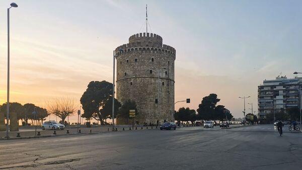 Ο Λευκός Πύργος στη Θεσσαλονίκη - Sputnik Ελλάδα