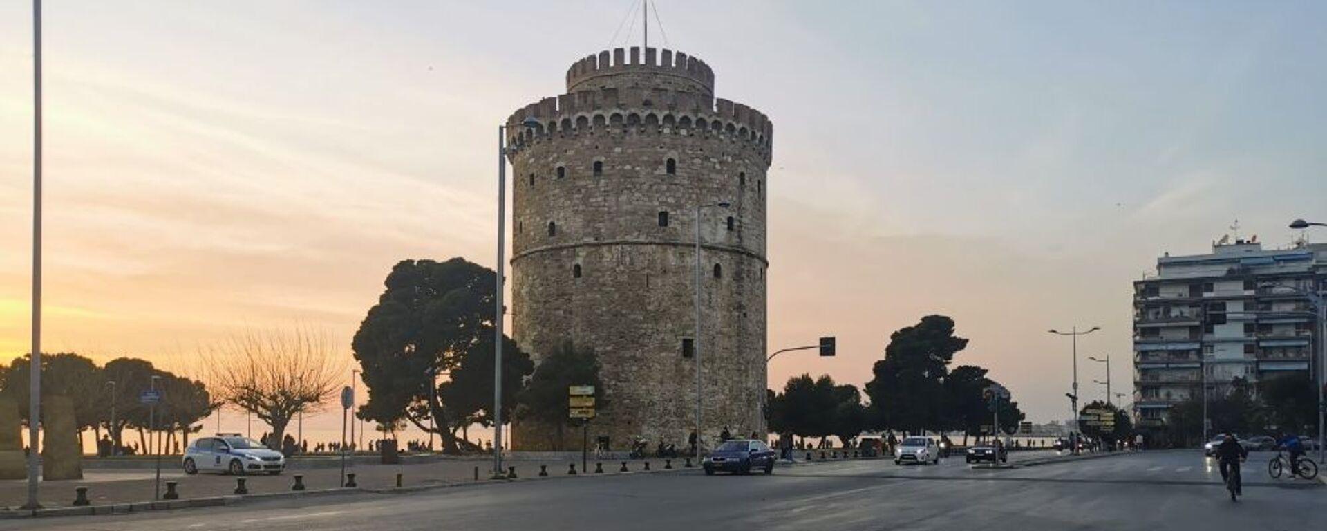 Ο Λευκός Πύργος στη Θεσσαλονίκη - Sputnik Ελλάδα, 1920, 17.09.2021