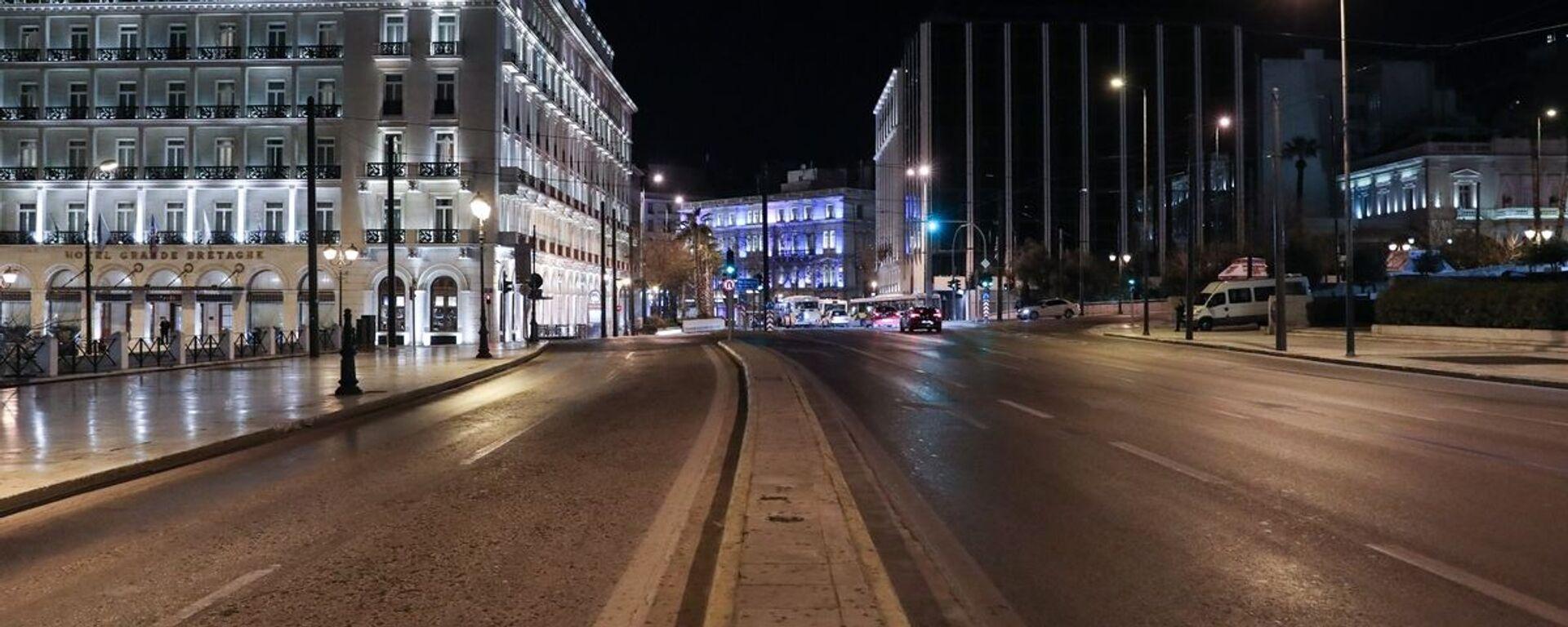 Lockdown στην Αθήνα - Sputnik Ελλάδα, 1920, 26.03.2021