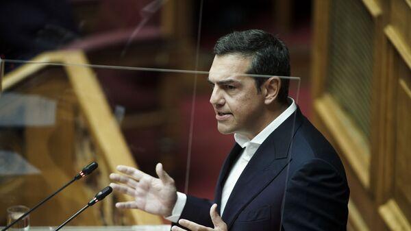 Αλέξης Τσίπρας στη Βουλή - Sputnik Ελλάδα