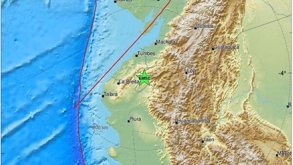 Σεισμός μεταξύ Περού - Εκουαδόρ - Sputnik Ελλάδα