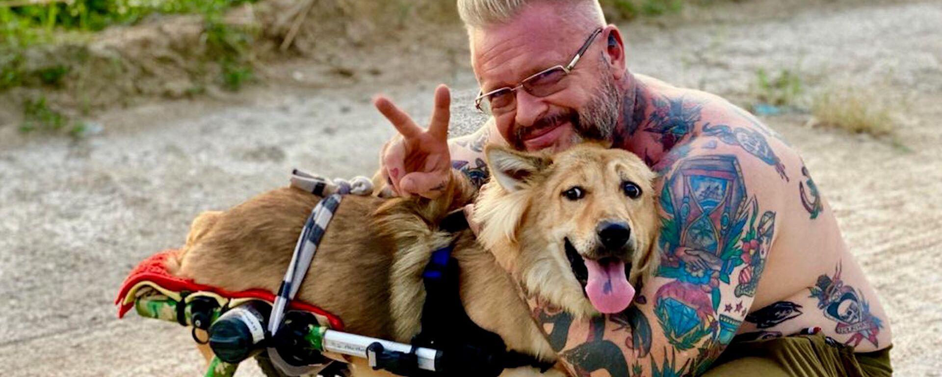 Καταφύγιο στην Ταϊλάνδη δίνει δεύτερη ευκαιρία στη ζωή σε σκύλους με αναπηρία - Sputnik Ελλάδα, 1920, 14.02.2021