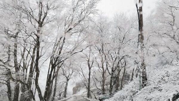 Χιόνια στα Μετέωρα από την κακοκαιρία «Μήδεια», 13 Φεβρουαρίου 2021 - Sputnik Ελλάδα