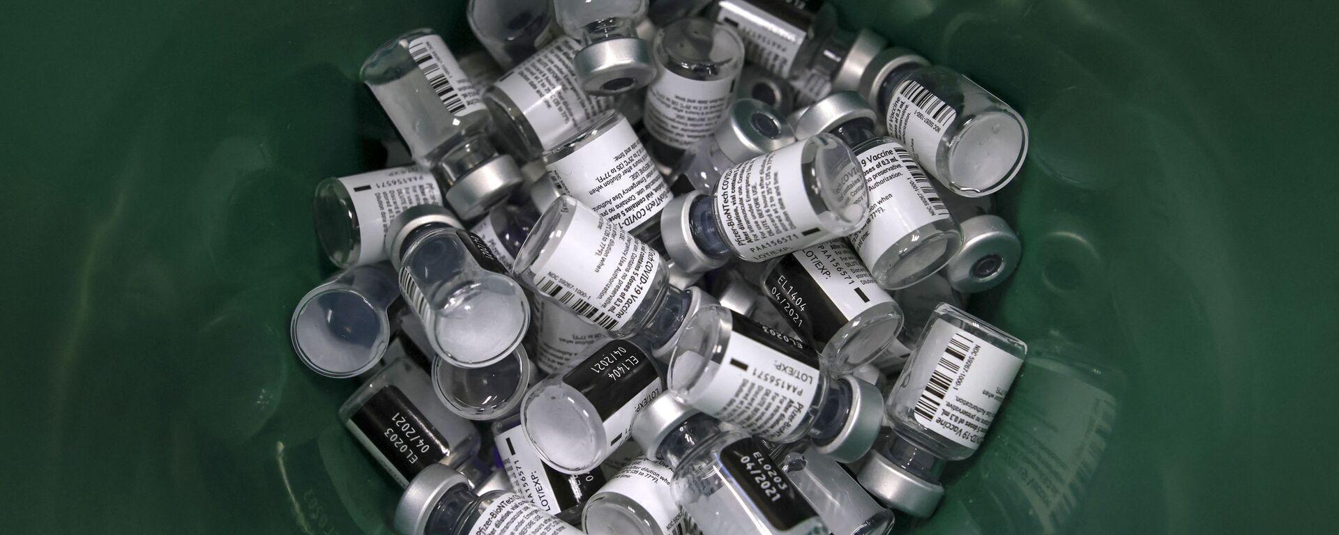 Εμβόλιο Pfizer στο Ισραήλ - Sputnik Ελλάδα, 1920, 08.09.2021