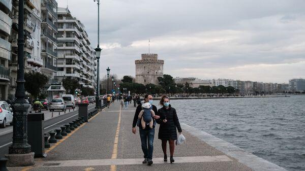 Θεσσαλονίκη, 9 Φεβρουαρίου 2021. - Sputnik Ελλάδα