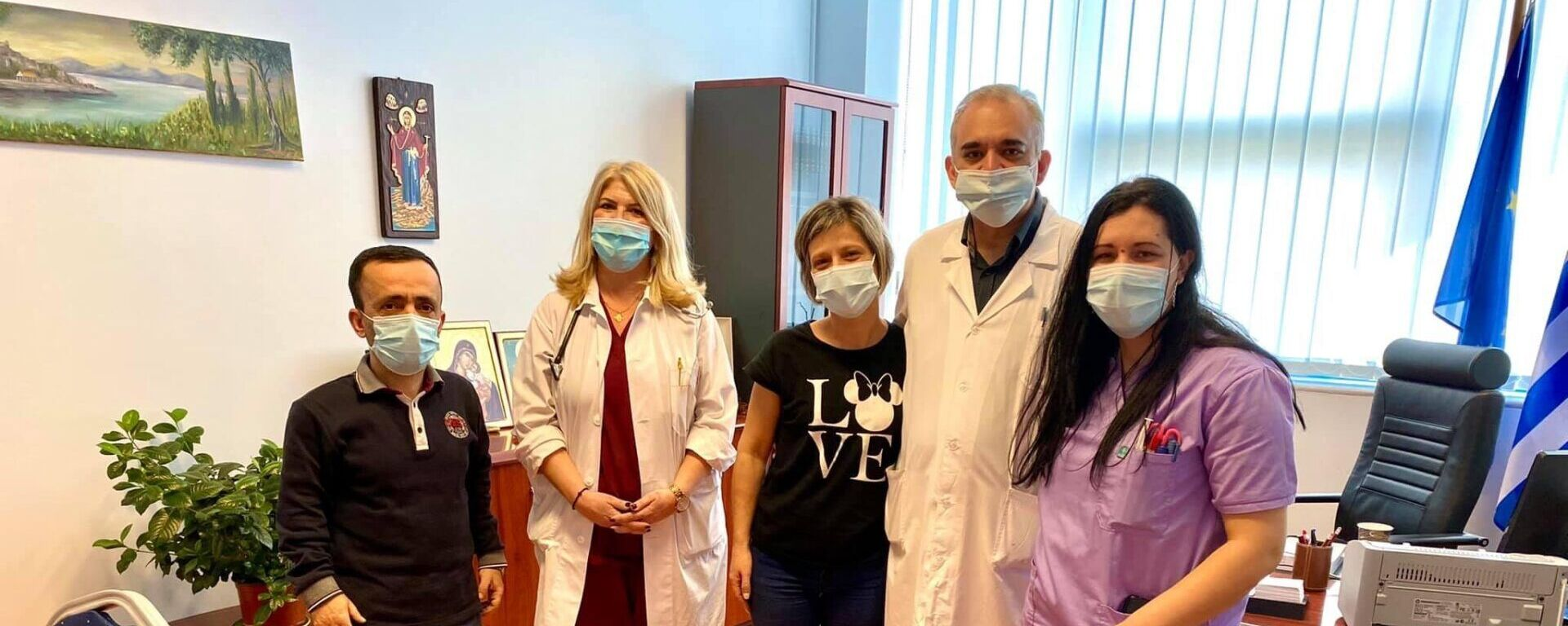 Κέρκυρα: Εξιτήριο πήρε η 40χρονη νοσηλεύτρια - Sputnik Ελλάδα, 1920, 19.02.2021