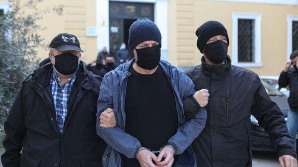 Ο Δημήτρης Λιγνάδης στα δικαστήρια Ευελπίδων - Sputnik Ελλάδα