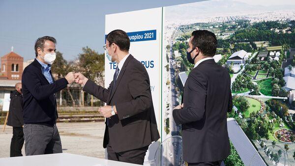 Υπογραφή συμφωνίας για το τεχνολογικό πάρκο στο παλιό αμαξοστάσιο του ΟΣΕ - Sputnik Ελλάδα