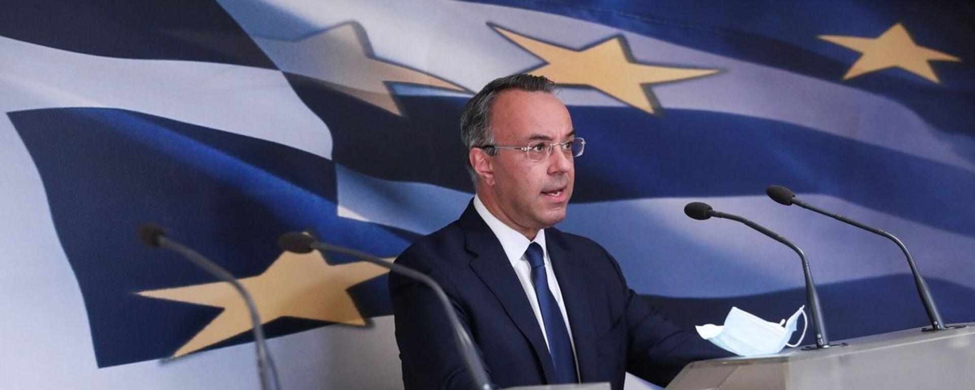 O υπουργός Οικονομικών, Χρήστος Σταϊκούρας - Sputnik Ελλάδα, 1920, 08.10.2021
