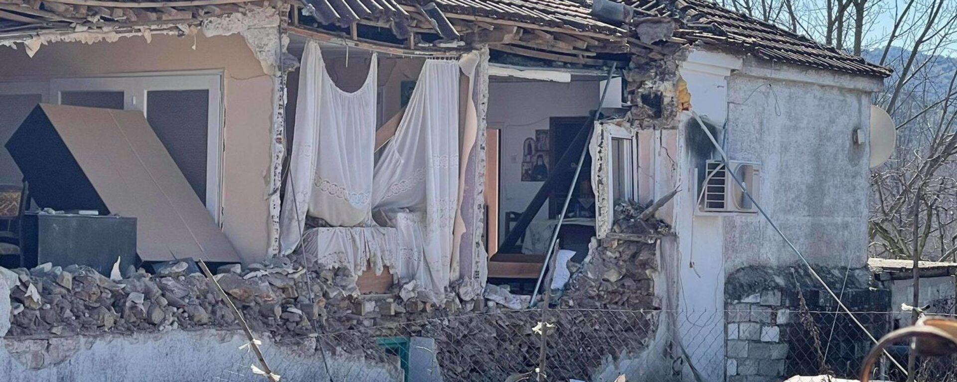 Σεισμός στην Ελασσόνα - Κατάρρευση σπιτιού - Sputnik Ελλάδα, 1920, 12.05.2021