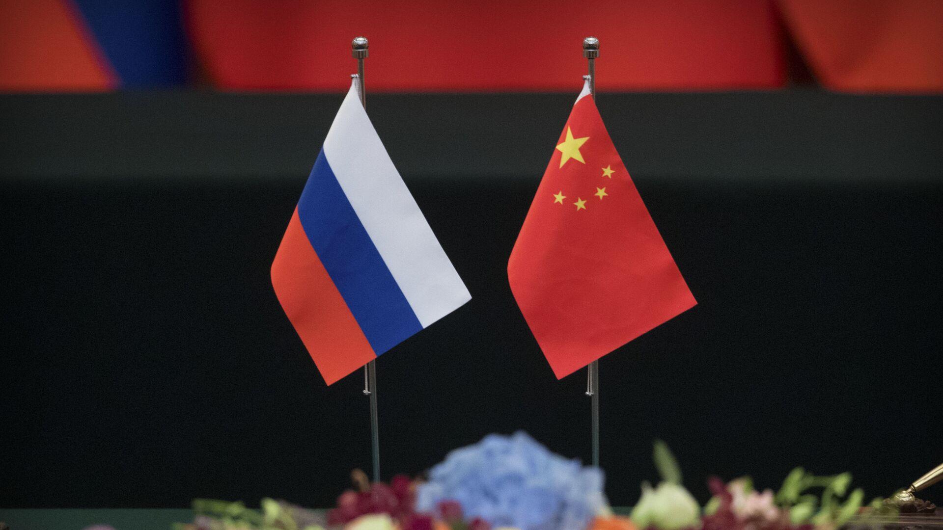 Σημαίες Ρωσίας - Κίνας - Sputnik Ελλάδα, 1920, 27.09.2021