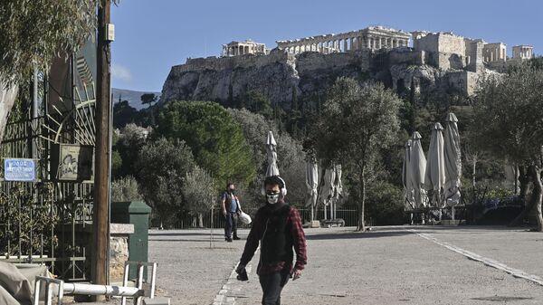 Πανδημία στην Ελλάδα. - Sputnik Ελλάδα