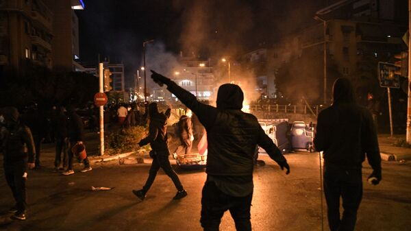 Πορεία κατά της αστυνομικής βίας στη Νέα Σμύρνη - Sputnik Ελλάδα