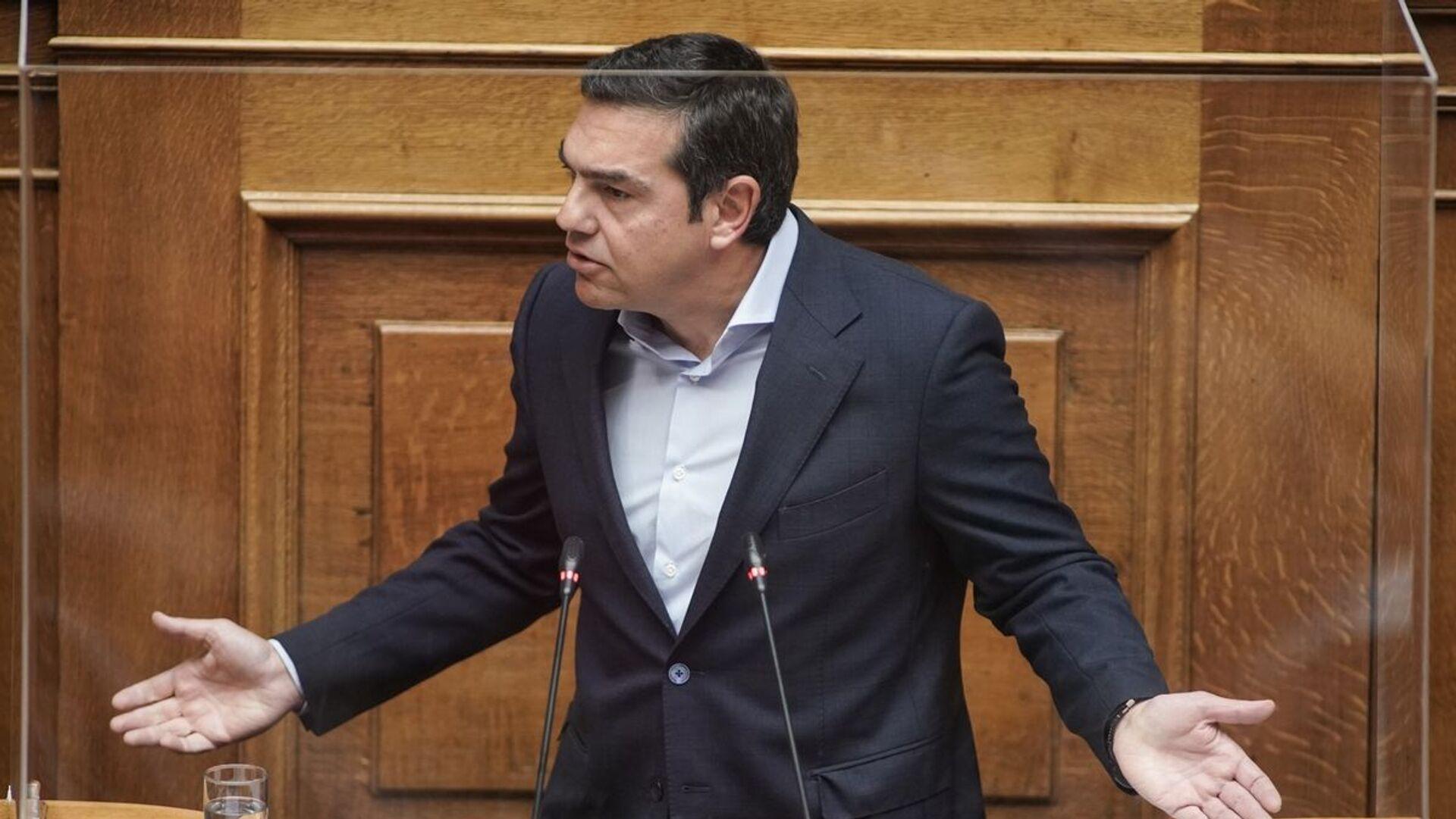Αλέξης Τσίπρας στη Βουλή - Sputnik Ελλάδα, 1920, 27.07.2021