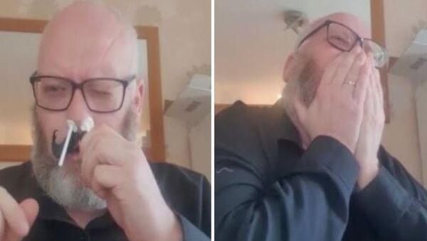 Σκωτσέζος κάνει αποτρίχωση στη μύτη και πεθαίνει στον πόνο - Sputnik Ελλάδα