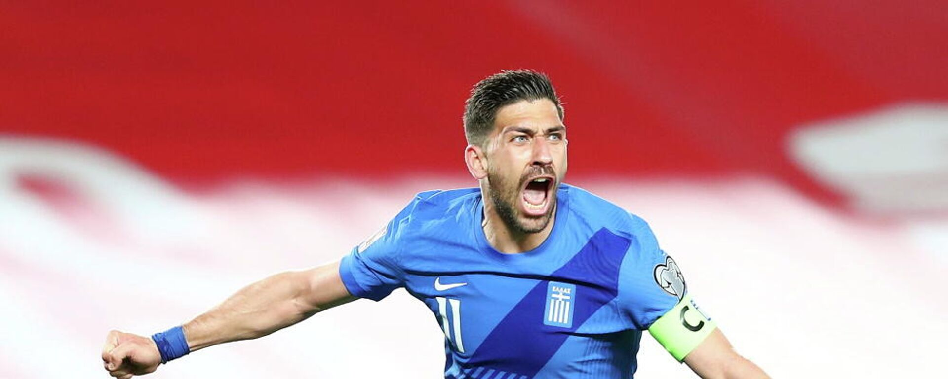 Ο Τάσος Μπακασέτας στον αγώνα Ισπανία - Ελλάδα για τα προκριματικά του Μουντιάλ 2022, 25 Μαρτίου 2021 - Sputnik Ελλάδα, 1920, 08.10.2021
