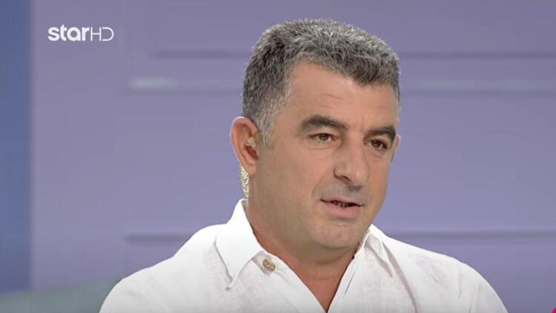 Ο δημοσιογράφος Γιώργος Καραϊβάζ - Sputnik Ελλάδα, 1920, 09.04.2021