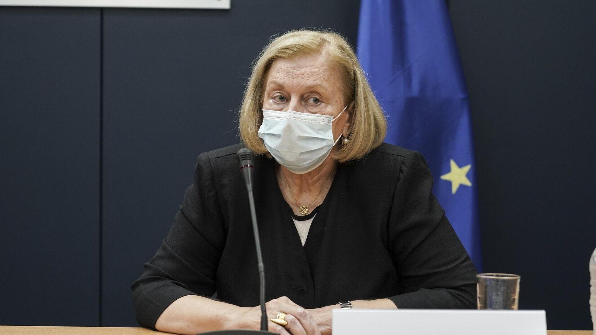 Η πρόεδρος της Εθνικής Επιτροπής Εμβολιασμού Μαρία Θεοδωρίδου - Sputnik Ελλάδα, 1920, 04.10.2021
