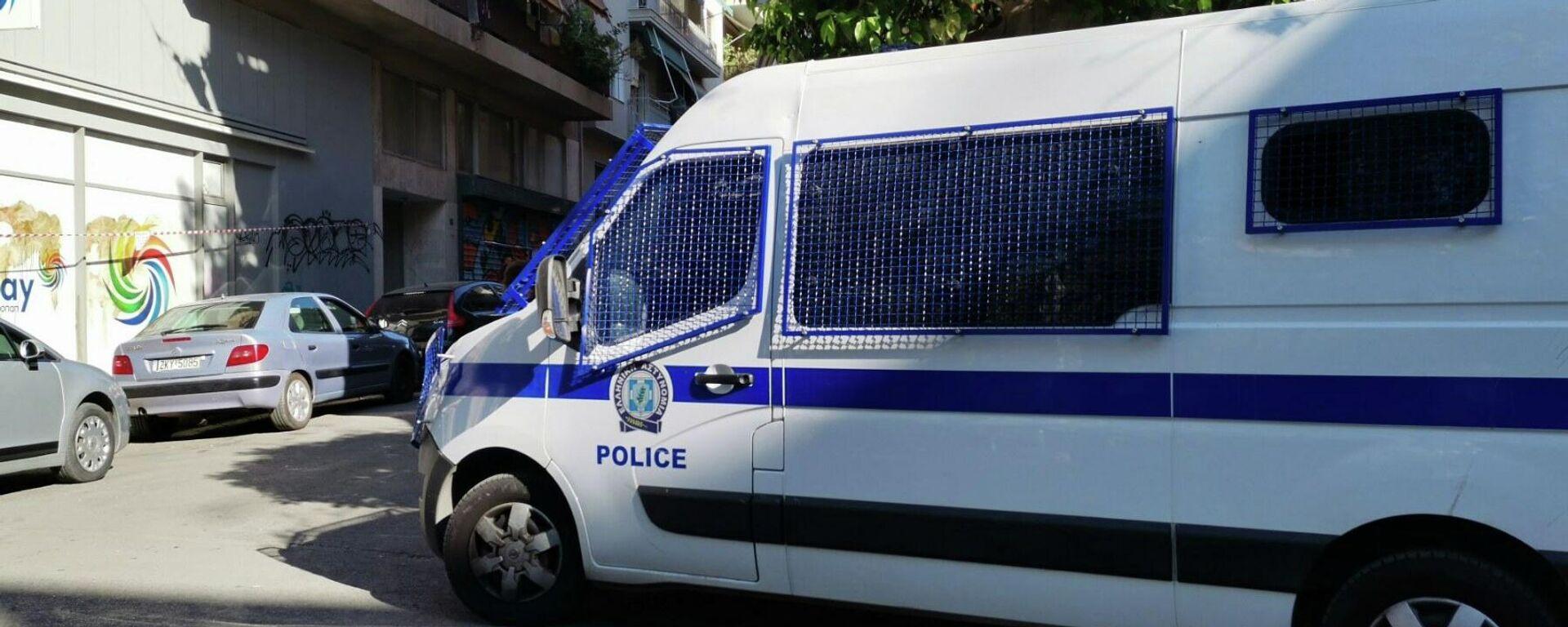 Αστυνομία στην πλατεία Αγίου Γεωργίου - Κυψέλη - Sputnik Ελλάδα, 1920, 10.09.2021