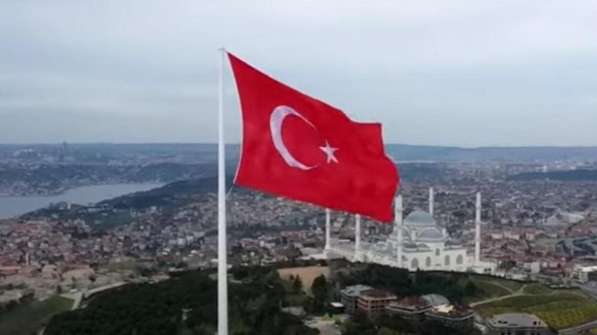 Τουρκική σημαία - Sputnik Ελλάδα, 1920, 12.10.2021