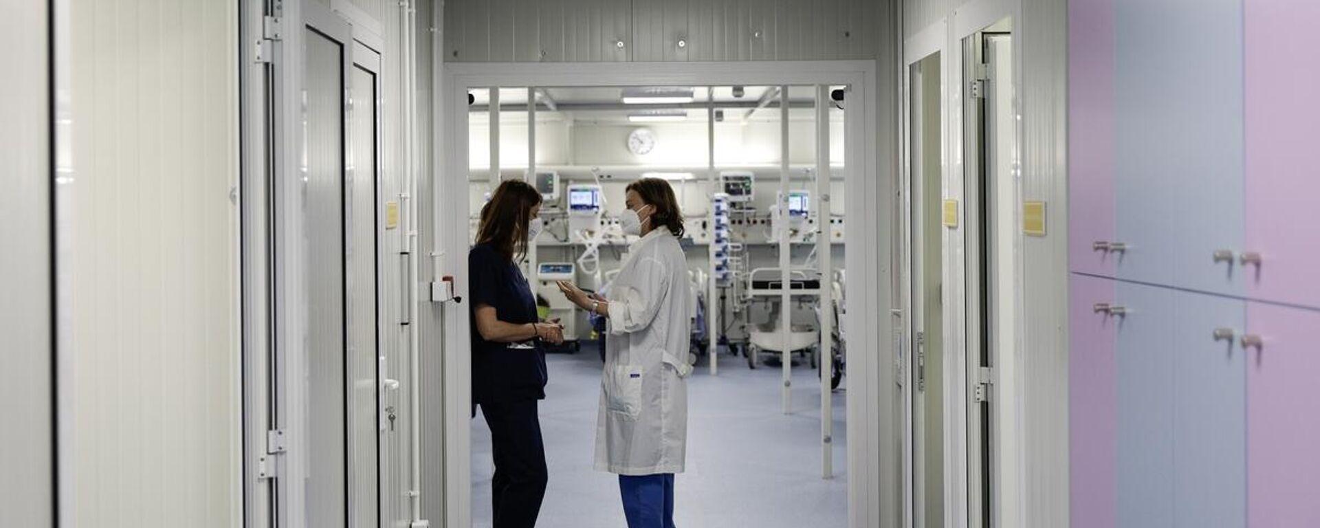Νοσοκομείο Παπανικολάου στη Θεσσαλονίκη - Sputnik Ελλάδα, 1920, 10.09.2021