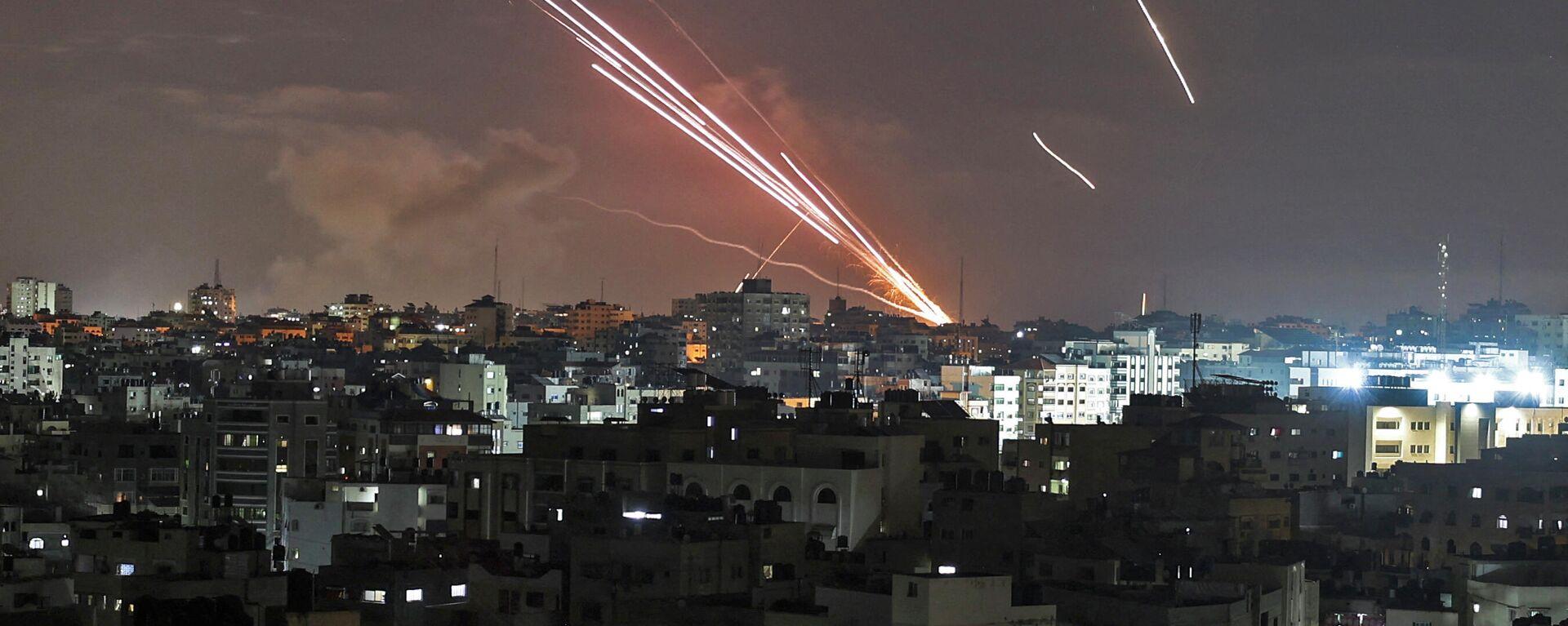 Ρουκέτες από τη Γάζα στο Ισραήλ - Sputnik Ελλάδα, 1920, 12.05.2021