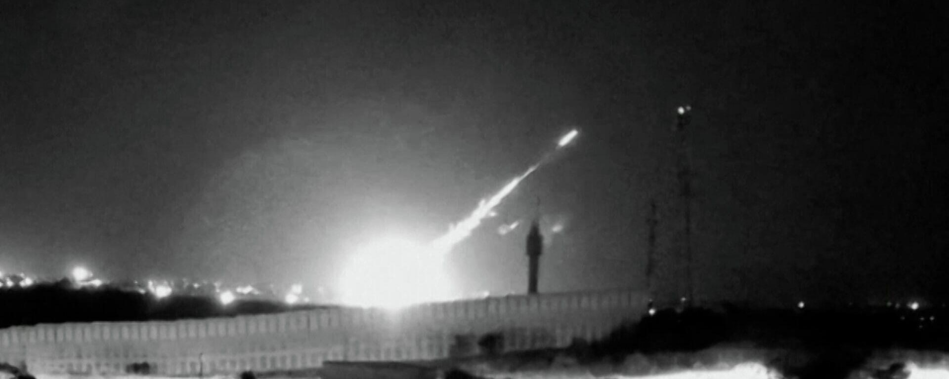 Σύρραξη δίχως τέλος: Βομβαρδισμοί, ρουκέτες και δεκάδες νεκροί σε Ισραήλ και Γάζα - Sputnik Ελλάδα, 1920, 13.05.2021