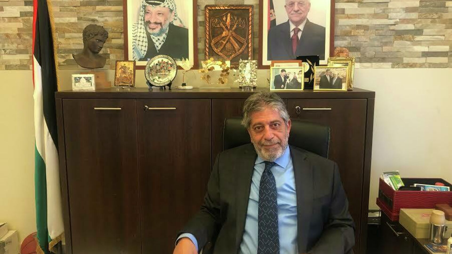 Ο Πρέσβης της Παλαιστίνης στην Ελλάδα, Μαρουάν Τουμπάσι - Sputnik Ελλάδα, 1920, 19.05.2021