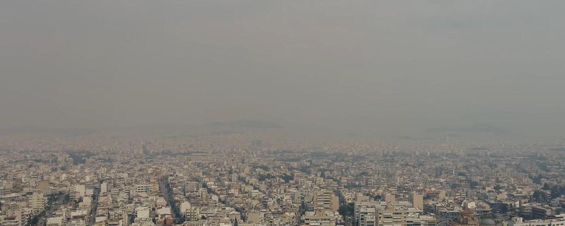 Αθήνα καπνός - Sputnik Ελλάδα, 1920, 06.08.2021